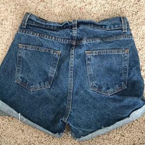 Brandy Melville Shorts - Brandy Melville Ray Denim Shorts